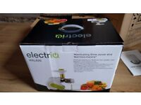 electriQ HSL600 Horizontal Slow Masticating Juicer