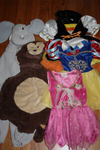 5 Halloween Costumes $10each (6mon-4T)