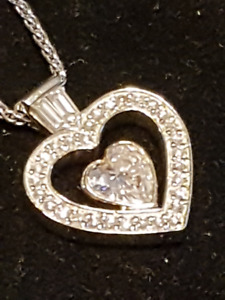 Custom Heart Diamond Necklace
