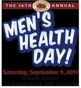 Country Grocer Men's Health Day