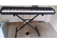 Korg SP-200 Digital Stage Piano Keyboard - 88 Weighted Keys - Good working order