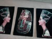 Egyptian wall carpets