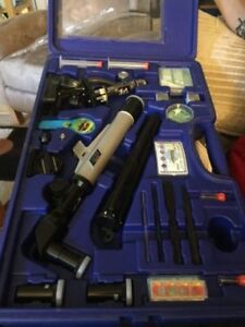 Eduscience and Sciencetech microscope and telescope sets