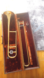 Old's trombone with mouthpiece