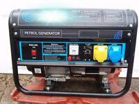 2.8 kVA Heavy Duty Portable 4 Stroke Petrol Generator.