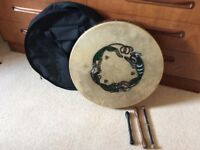 Walton's Beginner Bodhran with GIG BAG and Tippers