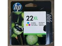Genuine HP colour Ink number 22 XL