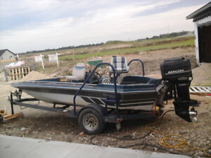 Ranger foxfire 170Vwith a mercury 135 motivated to sell