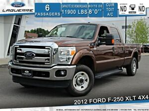 2012 Ford F-250 XLT**4X4*6 PASSAGERS*CAMERA *CRUISE*A/C**