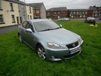 LEXUS IS 220D 2.2 TDI SE 56 REG NEW SHAPE LOW MILEAGE 4 DOOR SALOON FULL SERVICE HISTORY
