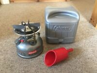 Coleman Sporter li 533 Dual Fuel Camping Stove boxed with filler
