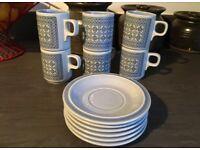 Vintage coffee set Hornsea