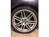 """OEM Audi RS4 19"""" Alloy Wheels"""