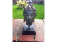 A lovely small Thai Bronze Buddha head
