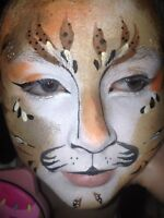 Professional Face Painting and Stage Makeup