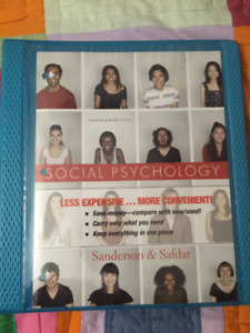 Social Psychology Textbook by Sanderson and Safdar