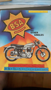 BSA GOLD STAR AND OTHER SINGLES B.S.A. 1982