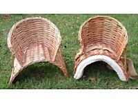 Child's basket saddle