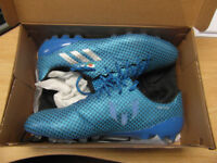 "Brand new un-worn size ""12"" MENS adidas Messi 16.1 football boots FG."