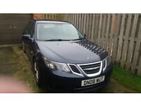 Saab Saloon Diesel Automatic Blue , Very Good Condition , New Cam Belt at 90k, Service History .