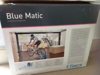 Blue Matic Tacx T2650 Cycle Trainer with resistance