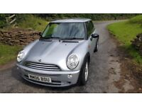 2006 Mini One 1.6 92k new mot new clutch new power steering pump and 350 service.