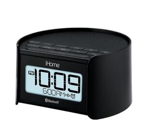 ALARM CLOCK iHome Alarm Clock and Radio witih BT speakerphone
