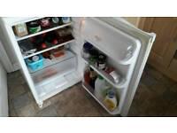 Under the counter hotpoint fridge