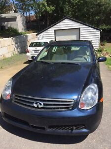 2006 Infinite G35x - Get at this ride low KM