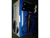 Playstation VR + 2 Move Controllers & V2 Camera