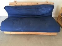Futon Frame & Mattress For Sale