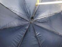 Blue genuine fishing umbrella