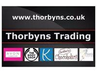 Selling Avon Cosmetics, Body Shop, Kleeneze, Phoenix Trading