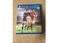 FIFA 16, PS4 game (used)