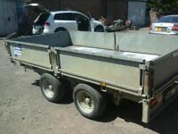 Ifor williams dropside trailer 10x5 no vat