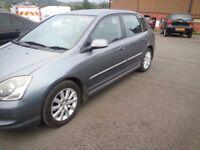 HONDA civic 2004 Sport, Type S £599 ONO