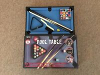 RED 5 mini pool table