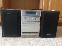 Panasonic Stereo music system for sale- Good condition