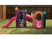 Little Tikes 8 in 1 adjustable playground play centre