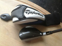 Taylormade SLDR 3 Rescue Hybrid 19° Upgraded 9.3h Tour Preferred TP Stiff Shaft ** CAN POST **