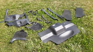 Misc Firebird Trans Am Interior parts and Black Seat belts