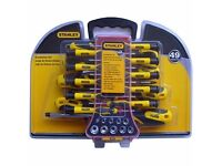 49 piece stanley screwdriver set