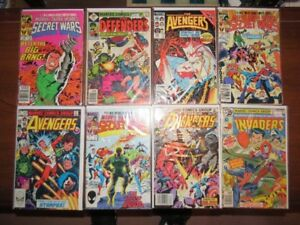 Vintage Marvel Super Teams Comic Book Collection Lot