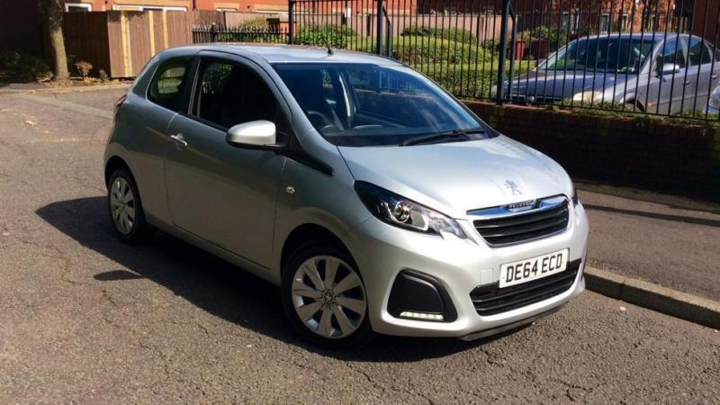 2014 Peugeot 108 1.0 Active 3dr Manual Petrol Hatchback