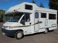 Autocruise STARSPIRIT, 2002, 4 Berth, 1 Owner, LOW MILES 12,969. U-Shaped Lounge