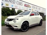 NISSAN JUKE 1.6 NISMO DIG-T 5d 200 BHP Apply for finance Onlin (white) 2013