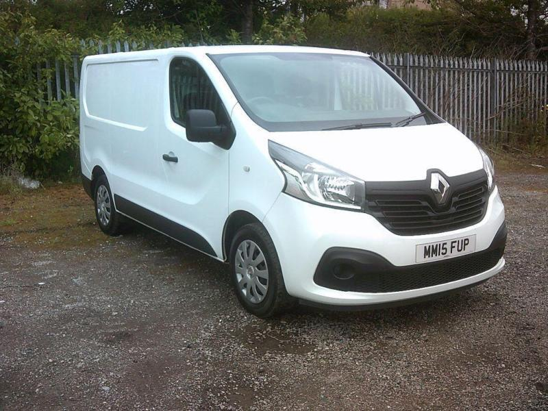 1f0c19abe48a96 Renault Trafic Sl27 Energy Dci 120 Business+ Van DIESEL MANUAL WHITE (2015)