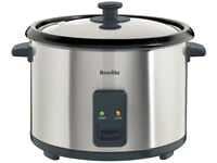 Breville ITP181 1.8L Rice Cooker and Steamer - St/Steel (used only once)