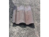 Redland Regency double roman roof tiles. Approx 150 used