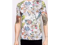 NEW Juice T-Shirt Bird Design/ Medium size Brand New Designer Bird T-shirt by Juice for Men